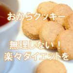 ホオリイおからクッキーで美味しく激安ダイエットを目指そう!