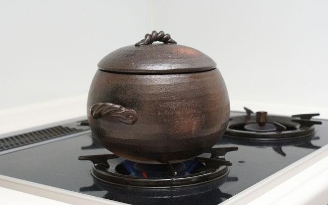 直火の土鍋